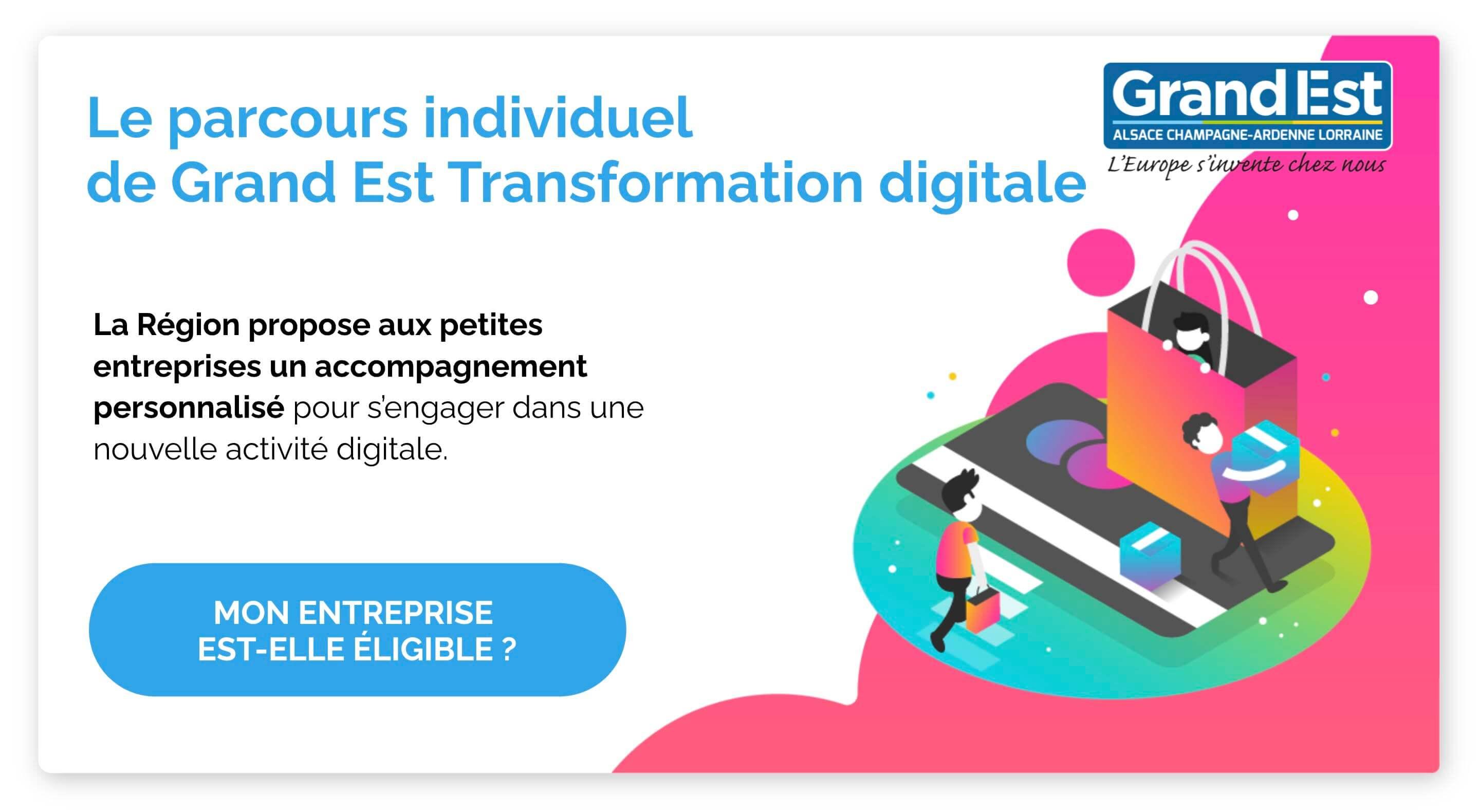 Le parcours individuel de Grand Est Transformation digitale